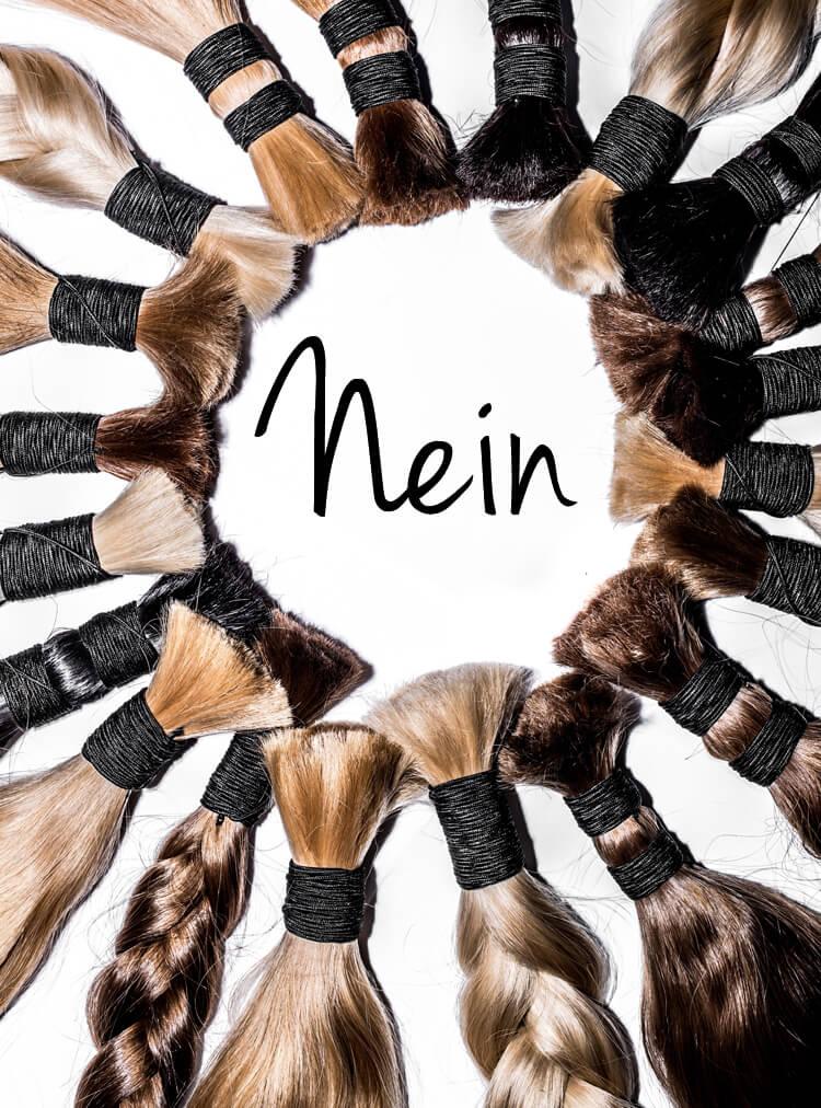 Nein zur Haarverlängerung in Linz