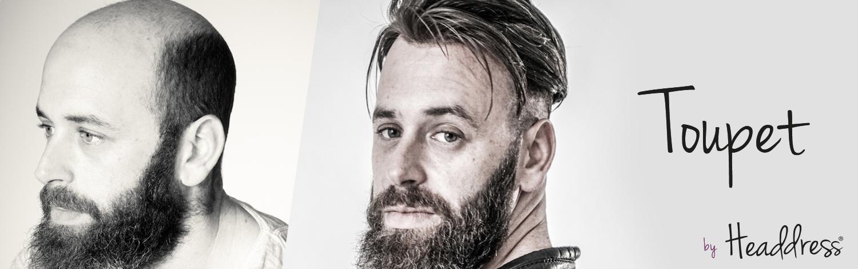 Toupet, Perücke für den Mann by Headdress Linz, Männer Perücke, Toupet für Männer, Haarteile Männer