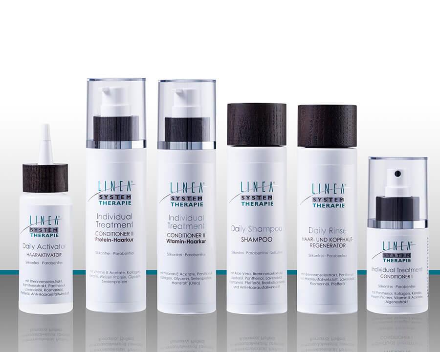Linea Haartherapie – Linea System, Linea System Therapie