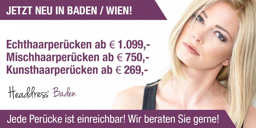 Perücken in Baden by Headdress. Perücken kaufen Baden bei Wien, Niederösterreich und Burgenland. Headdress Baden Perücke kaufen, Haarverdichtung, PRP Behandlung uvm.