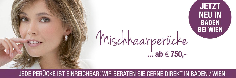 Headdress Baden Mischhaarperücke kaufen. Perücken Geschäft, Perücken Online Shop. Mischhaarperücken Baden, Perücke kaufen in A-2500 Baden bei Wien.