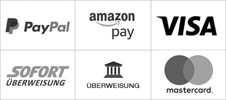 Zahlungsarten bei Headdress